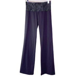 Lululemon Groove Pants Sz 6 Feather Stripe